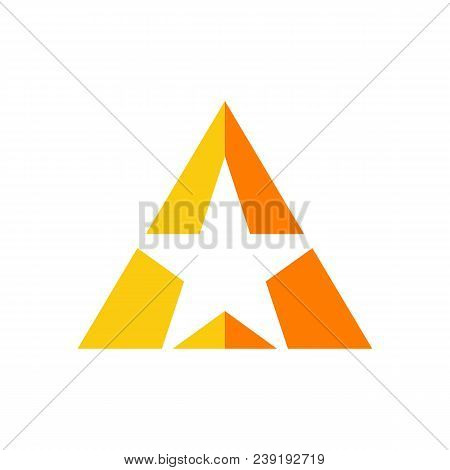 A Star Concept Logo, Star Color Vector Logo,star Color Icon, Star Rating, Rank. Star Astrology Symbo