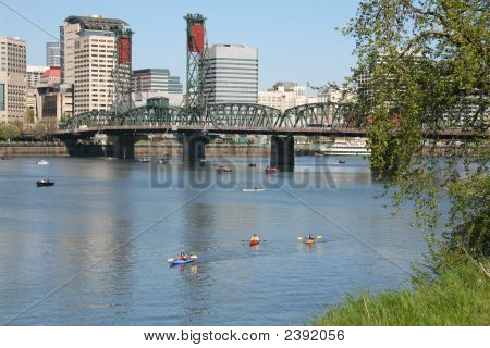 Steel Bridge, Portland, Or
