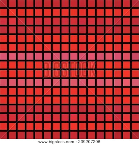 Red Pixelize Cubic Cubes Modern Futuristic Texture Background
