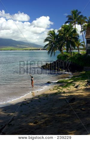 Fishing In Kihei, Hawaii