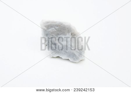 Albite Mineral Isolated Over White