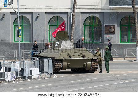 Dress Rehearsal Of Military Parade