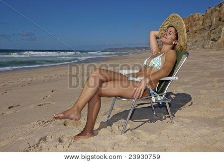 Catarina catching sun !