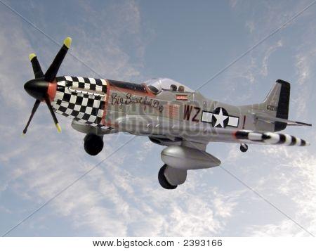 Mustang Diecast Model Aircraft
