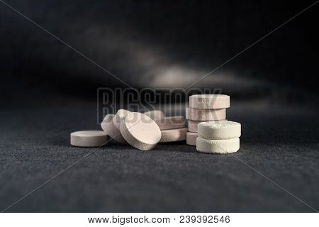 Acetaminophen Or Paracetamol, Medicine For Relief Pain Or Fever.