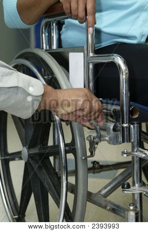 Locking Wheel Chair