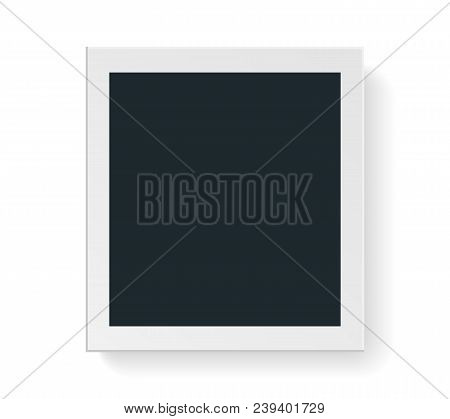 Vector Photo Frame To Submit Your Creative Design And Family Photo, Friends Photo. Use For Your Work