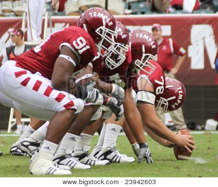 Temple Offensive line