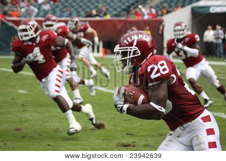 Temple Defensive Back Marquis Liverpoole