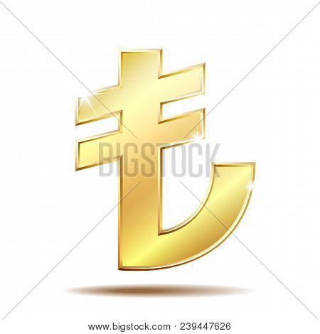 Shiny Golden Turkish Vector Photo Free Trial Bigstock
