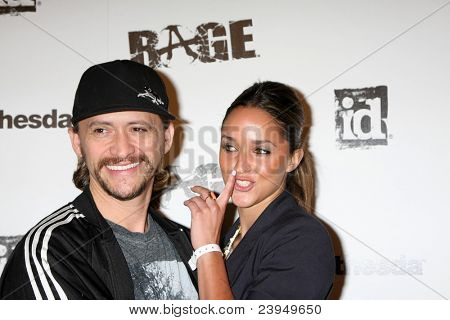 LOS ANGELES - SEPT 30:  Clifton Collins Jr arriving at  the RAGE Game Launch at the Chinatown's Historical Central Plaza on September 30, 2011 in Los Angeles, CA