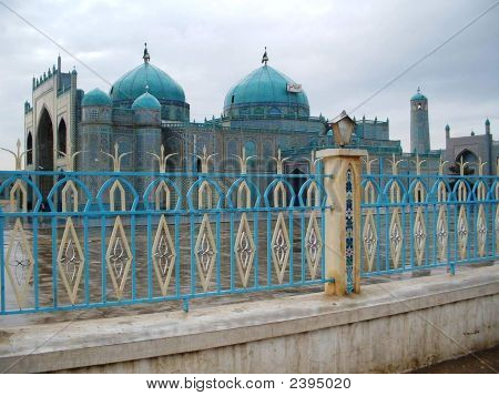 Beside The Tomb Of Mohammad'S Son In Law Ali In Mazar-E Sharif, Afghanistan