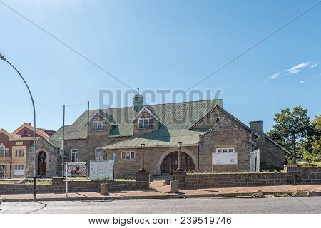 Estcourt, South Africa - March 21, 2018: The Tourist Information Centre In The Historic Civic Buildi