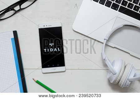Tidal Music Service Image & Photo (Free Trial) | Bigstock