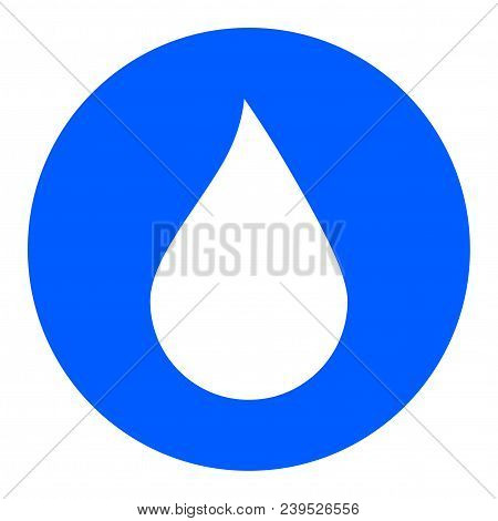 Water Drop Button, Water Drop Icon