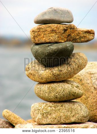 Column Of Stones