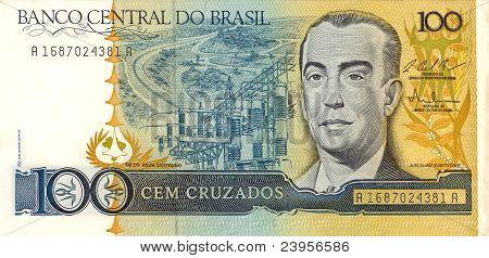 100 Cruzado Banknote
