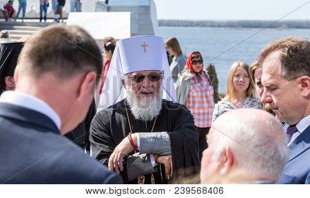 Samara, Russia - May 6, 2018: Metropolitan Of Samara And Togliatti Sergius At The Ceremony Of The Op