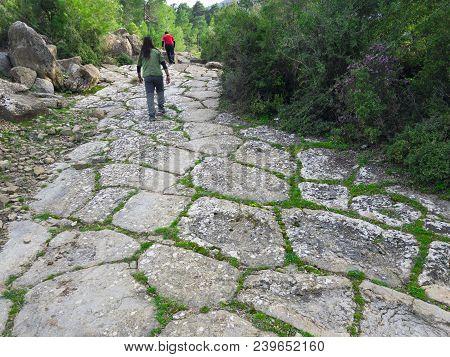 Caravan Routes And Spectacular Recreational Walks;trekking Group