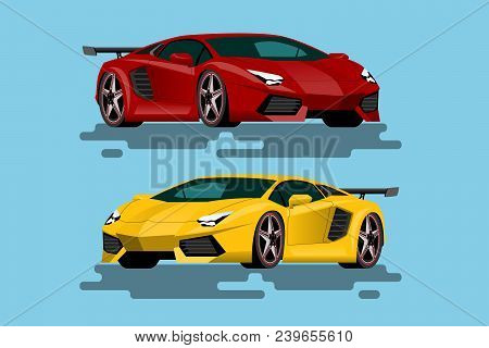 Super Luxury Car For People Who Love High Speed. Newly-formulated Vehicles In The Concept Of Agility