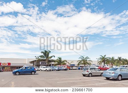 Ladysmith, South Africa - March 21, 2018: A Shopping Centre In Ladysmith In The Kwazulu-natal Provin