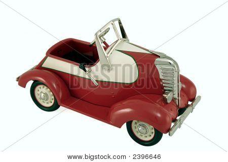 Fancy Red Car