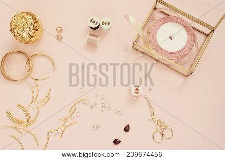 Jewelry Designer Workplace Image Photo Bigstock