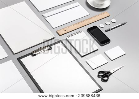 Photo. Template For Branding Identity. For Graphic Designers Presentations And Portfolios. Identity