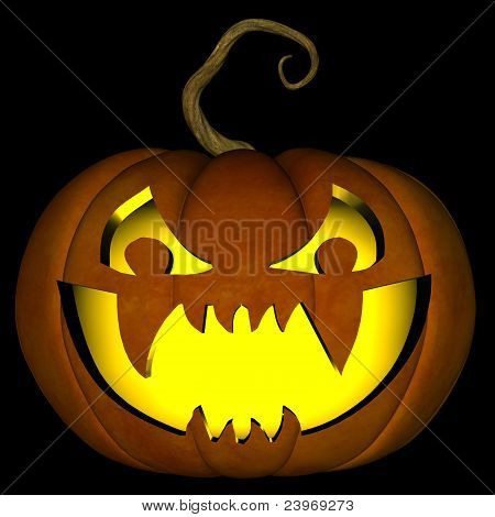 Halloween Jack O Lantern 01