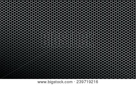 Dark metallic mesh texture background