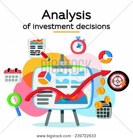Investment Attraction Case Studies And Analysis. Return On Investment, Roi, Business, Profit. Profit