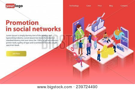 Promotion In Social Networks. Chatbot, Video Broadcast, Stories, Smm Promotion, Online Analytics. Pe