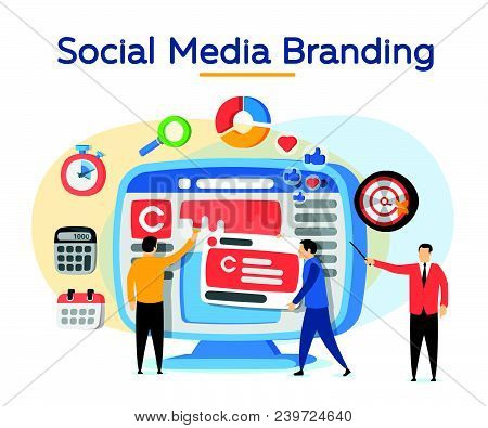 Promotion Of The Brand In Social Network. Analytics For Social Media Marketing, Management And Optim