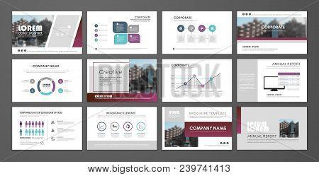 Modern Presentation Slide Templates. Brochure Template, Brochures, Brochure Layout, Brochure Cover,