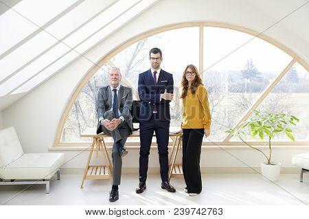 Business Management Portrait