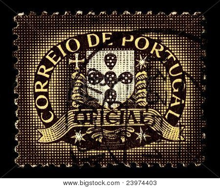 PORTUGAL -CIRCA 1975:A stamp printed in Portugal  shows image of Correios de Portugal is the national postal service of Portugal, circa 1975.