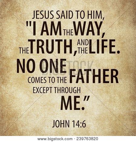Jesus Said To Him,