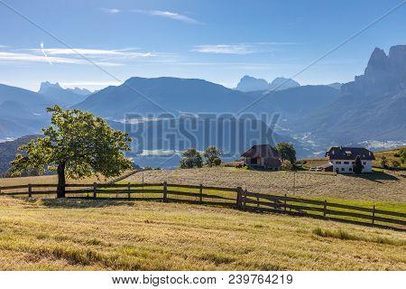 View Towards The Bozen Basin