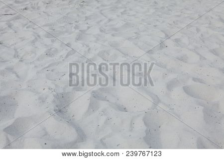 Sand Texture. Dirty Sand. Background From Fine Sand. Sand Background