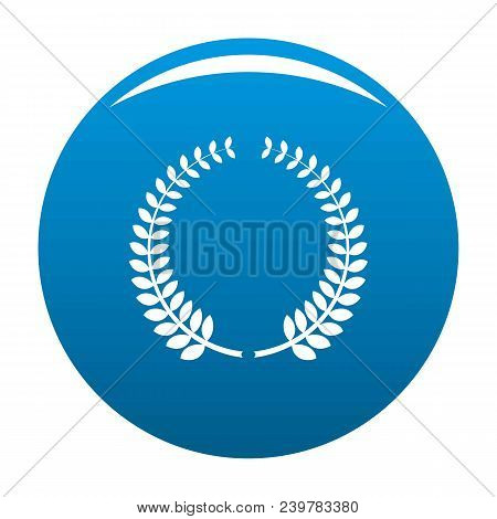 Awarding Icon. Simple Illustration Of Awarding Vector Icon For Any Design Blue