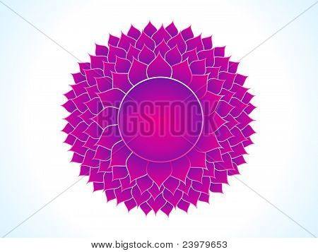 detailed crown chakra of body vector illustration poster