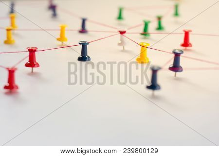 Linking Entities, Network Simulation, Social Media, Communications Network, The Connection Between T