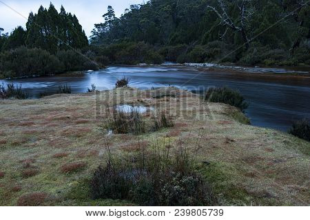 Ronnie Creek In Cradle Mountain