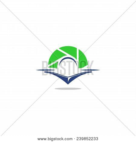 Aerial Photography Icon, Aviation Photography Logo. Drone Symbol. Vector Template Ready For Use