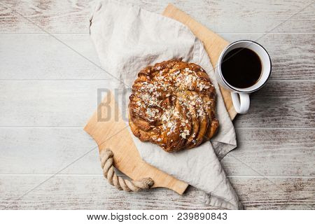 Sweet maple syrup bread