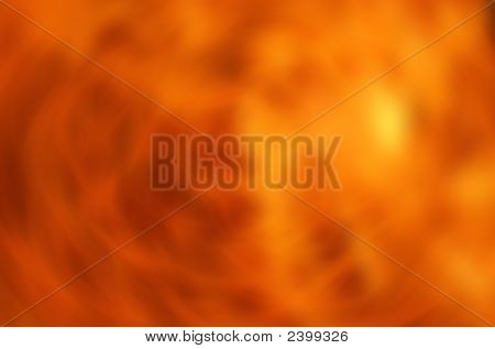 Fiery Gold Background