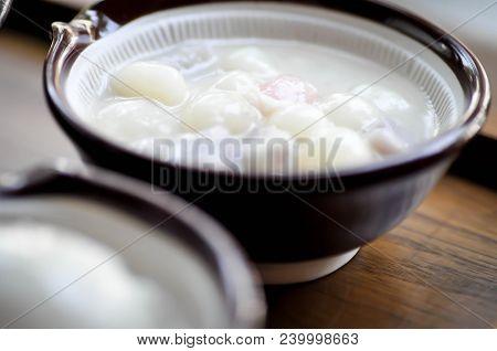 Thai Dessert Or Thai Sweet Or Thai Sweetmeat Dish