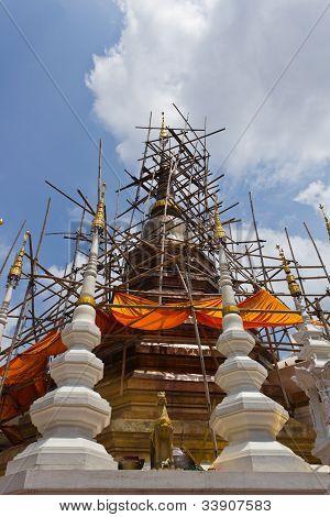Renovated Pagoda (Chedi)