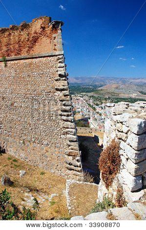 Nafplio , Palamidi castle