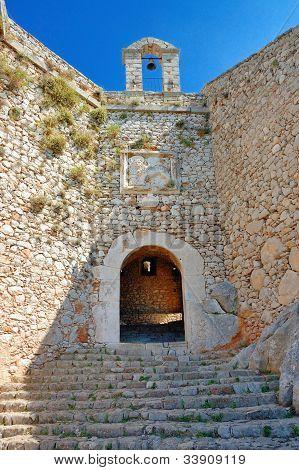 Nafplio , The Palamidi castle